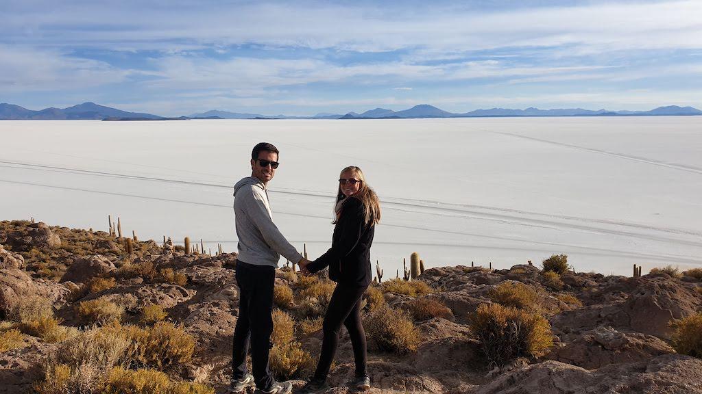 Isla Incahuasi excursion salar Uyuni