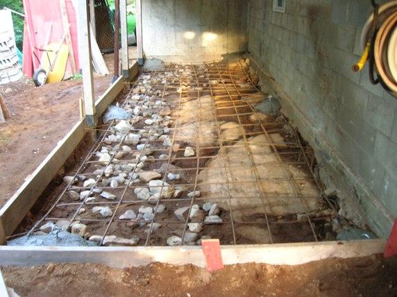 construire un coffrage pour dalle de b 233 ton servant de plancher dans notre maison