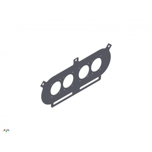 Pipercross PX500 Baseplate to suit CBR1100 Carburettors