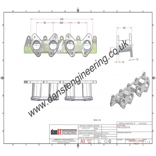 Renault Clio 172,182 and 1.8 16v F4R INLET MANIFOLD TO