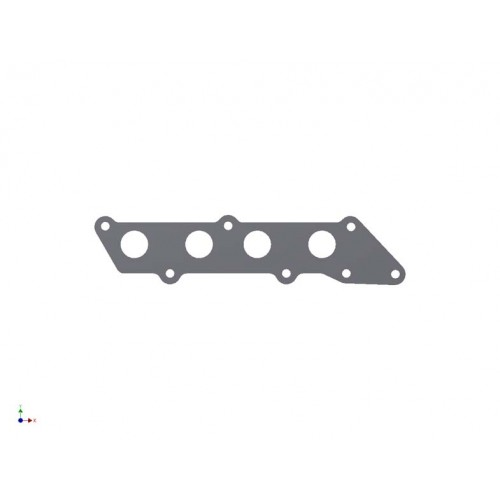 Ford 1.8/ 2.0/ 2.3 Duratec Exhaust Manifold Flange Plate
