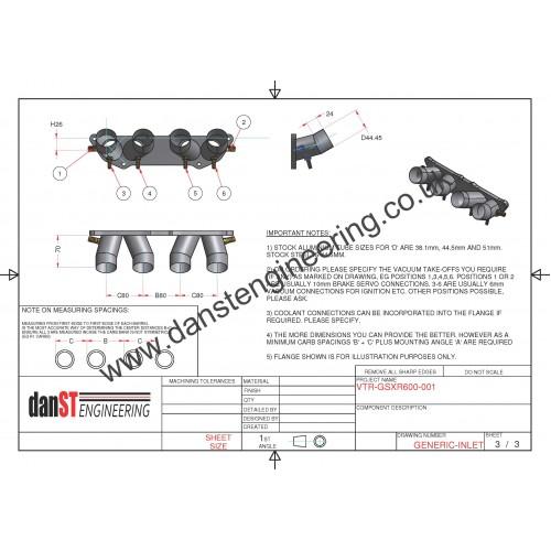 Peugeot 106 XSI & Saxo VTR TU5 8v Inlet Manifold for