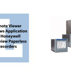 remote viewer windows application for honeywell trendview paperless recorders jpg [ 8064 x 4464 Pixel ]