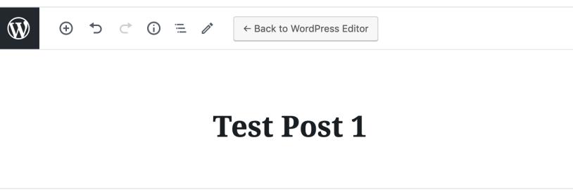 add post