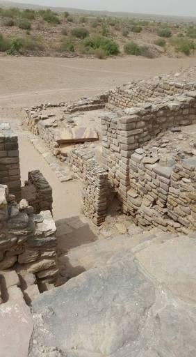 Ancient ruins at Dholavira
