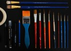 Brushes. You can tell which one I use the most.