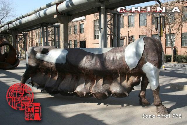 Descoperind China - Beijing, Zona Artei 798 E