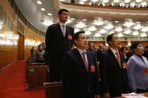 Conferintele CPPCC 2013_Yao Ming 3