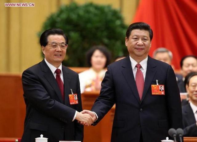 Transfer de putere - Hu Jintao - Xi Jinping