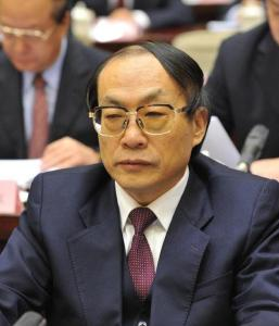Liu Zhijun, fostul ministru chinez al Cailor Ferate