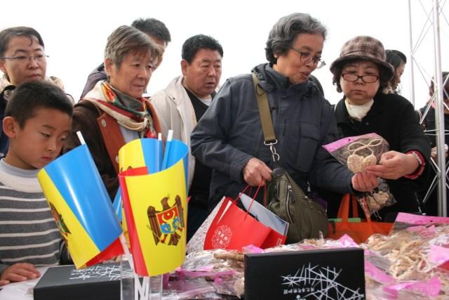 Republica Moldova - Targ de caritate, MAE Chinez 02.11.2013 A