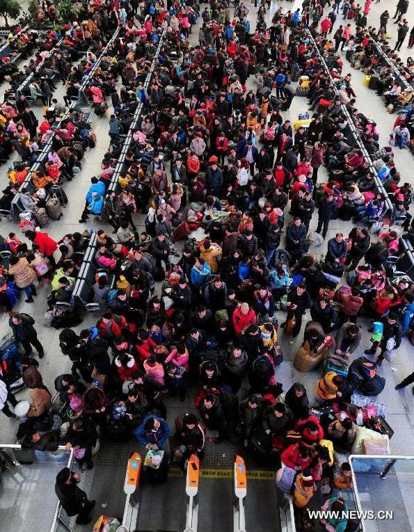 Marea Migratie China 2014 0