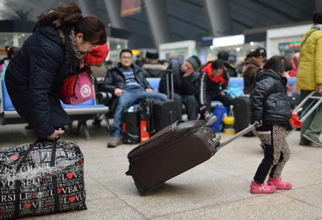 Marea Migratie China 2014 1