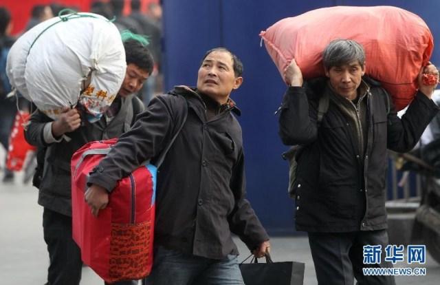 Marea Migratie China 2014 2