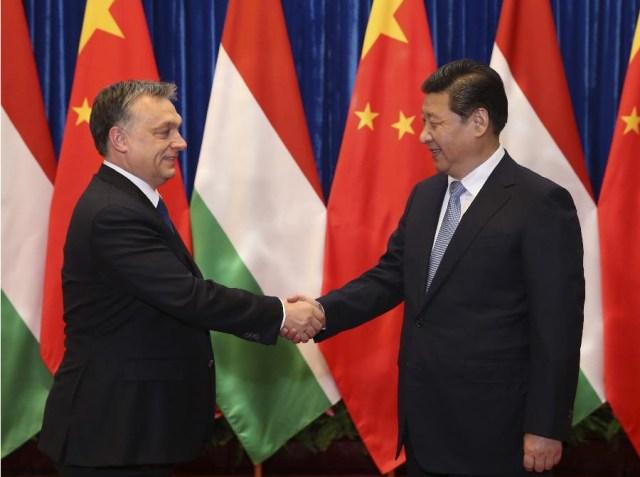 Viktor Orban - Xi Jinping, Beijing februarie 2014