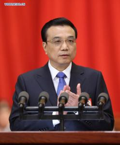 Prim-ministrul chinez Li Keqiang, martie 2014