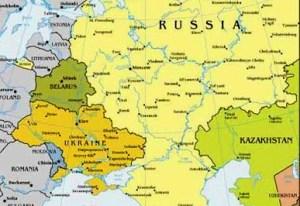 Rusia, Kazakhstan, Belarus, Ucraina, Moldova