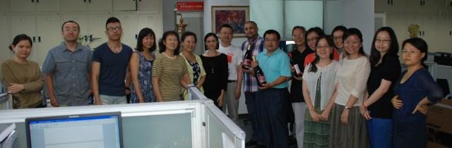 46 de ani de Limba Romana la Radio China International, 2014 2