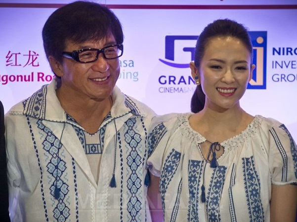 Jackie Chan - Ziyi Zhang in Romania, 11 septembrie 2014 C