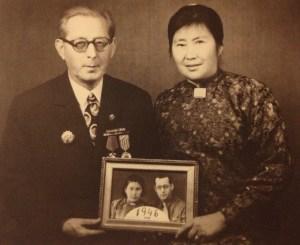 Nelly și Bucur Clejan, la Bucuresti in anii 70 2