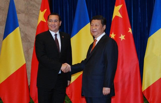 Presdintele Xi Jinping - Premierul Victor Ponta, 2 septembrie 2014 1