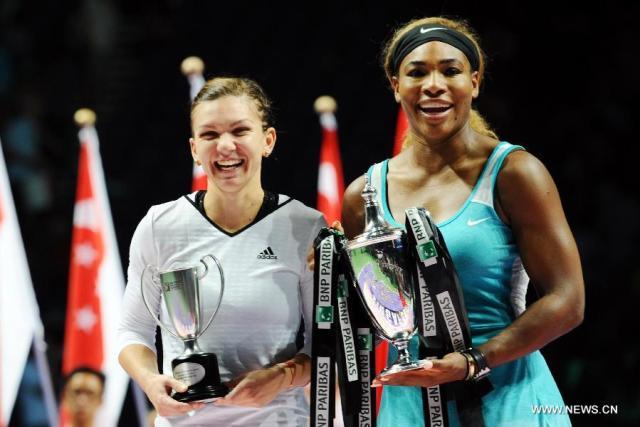 Simona Halep - Serena Williams, finala Singapore 2014