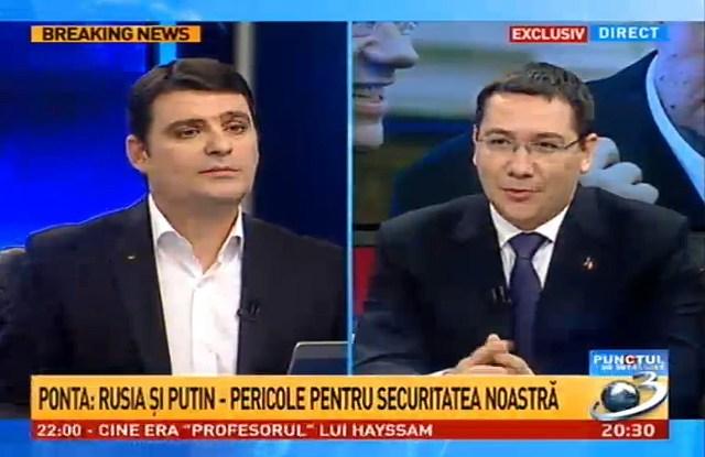 Antena 3 - Victor Ponta despre China, Rusia, R Moldova 2
