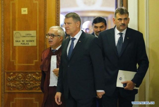 Xinhua - Iohannis confirmat presedinte al Romaniei A