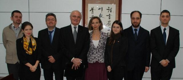 4 Reuniune universitara chino-romana, la Beijing