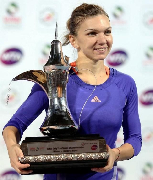 Halep a invins-o pe Pliskova la WTA Dubai 2