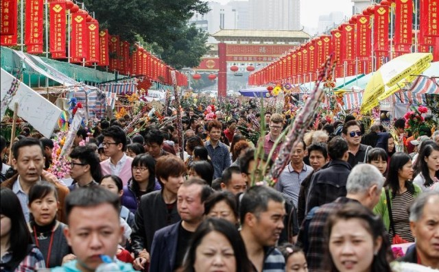 Vizita la temple de anul nou chinezesc
