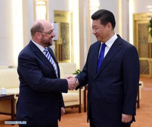 Martin Schutz - Xi Jinping, Beijing 16 martie 2015