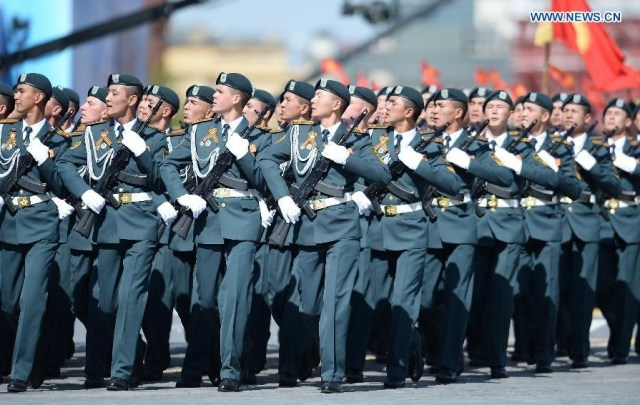 Military Institute of the Ministry of Defense of Tajikistan, Moscova 9 mai 2015