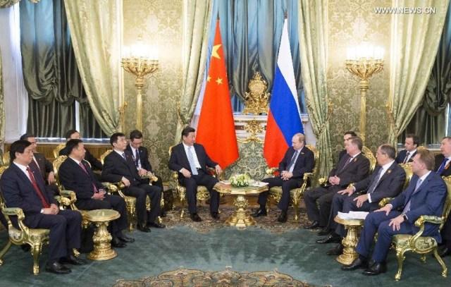 Reuniune Rusia - China, Moscova 9 mai 2015