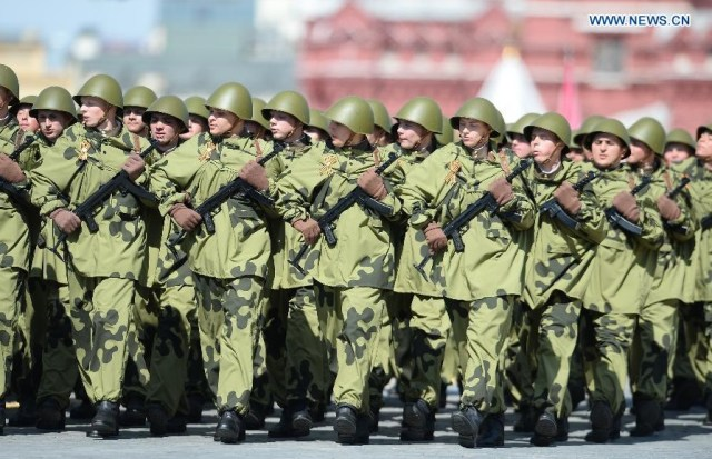 Russian Scout Unit, Moscova 9 mai 2015