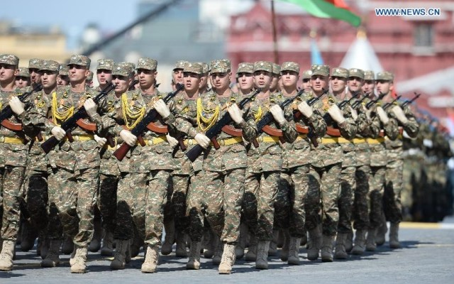 Soldiers from Armenian Army, Moscova 9 mai 2015