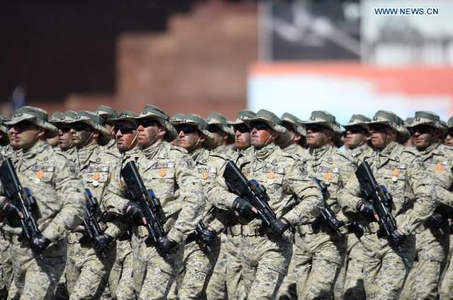 Soldiers of Azerbaijan, Mosocova 9 mai 2015