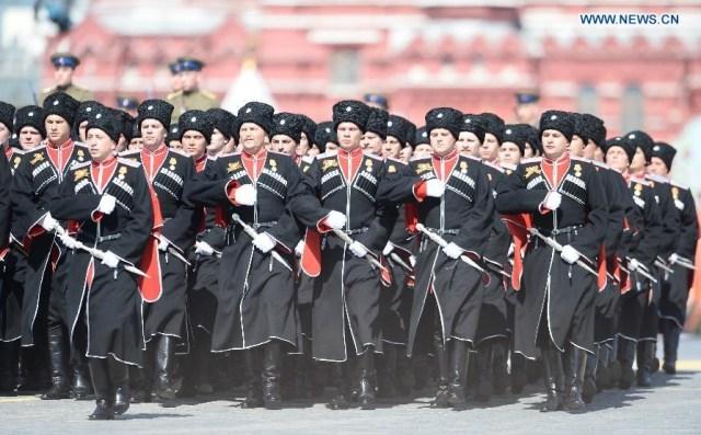 The Battalion of the Kuban Cossacks, Moscova 9 mai 2015