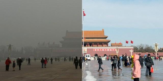 Poluare, Beijing
