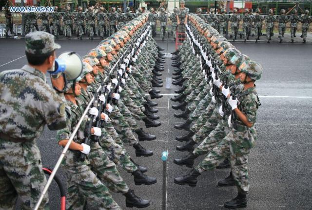 14 Parada militara 70 de ani WW II, pregatire