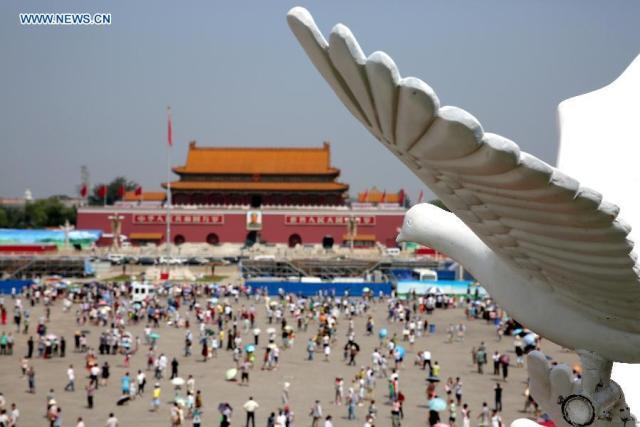 Piata Tian Anmen 1945-2015 8