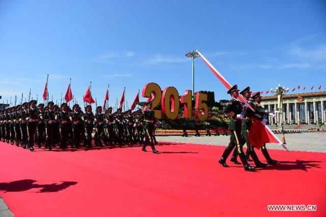 Parada China 70 Ani WWII, 03.09.2015 7