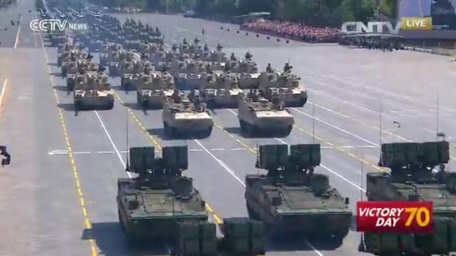 Parada China 70 Ani WWII, 03.09.2015 D