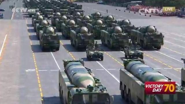 Parada China 70 Ani WWII, 03.09.2015 E