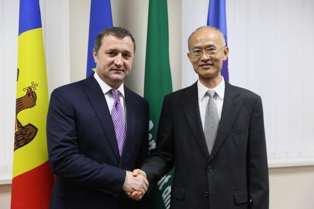 Vlad Filat - Zhang Yinghong, 7 sept 2015