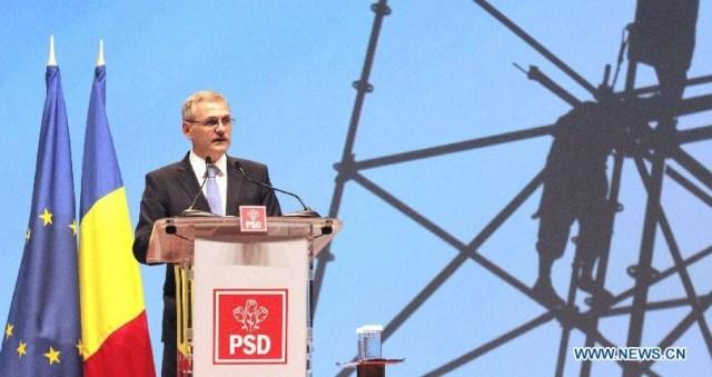 Xinhua - Dragnea ales presedinte al PSD 1