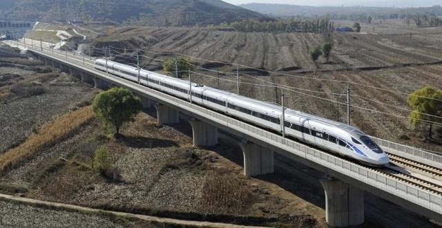 Tren de mare viteza Datong - Xian 2