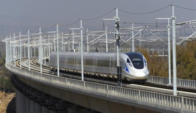 Tren de mare viteza Datong - Xian 3