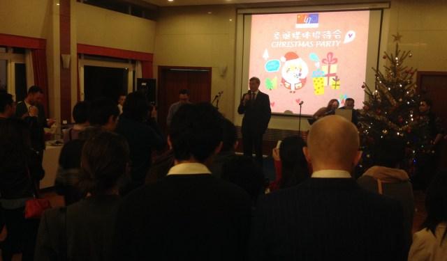 Petrecerea de Craciun a Jurnalistilor la Ambasada UE 2015 2