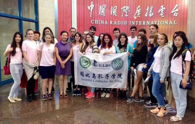 8 Vizita Confucius la CRI 2016
